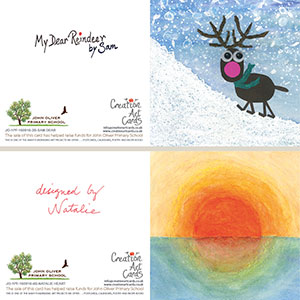 School Christmas Cards Fundraising Art Projects Christmas Cards