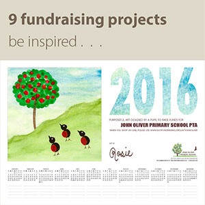 Fundraising School Calendar - Personalised Year-To-View